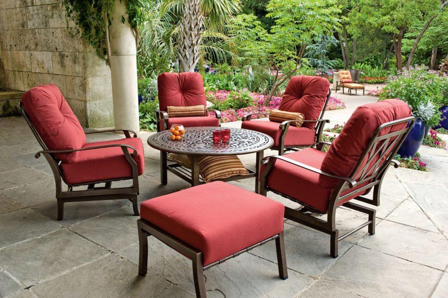 Cortland Spring Base Lounge Chair Labadies Patio