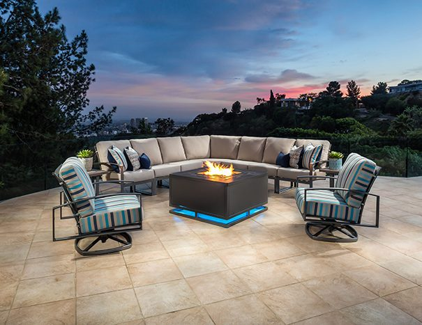 Tremendous O W Lee Pacifica Sectional Labadies Patio Furniture Download Free Architecture Designs Viewormadebymaigaardcom